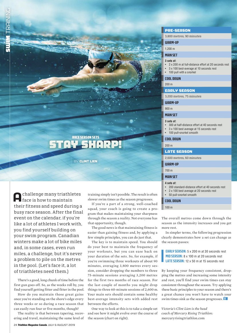 stay sharp article